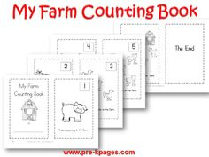 Fire safety theme for Preschool, Pre-K, and Kindergarten. Hands-on literacy and math activities, printables, book lists and more to make learning fun! Farm Activities, Preschool Themes, Preschool Farm, Farm Lessons, Community Helpers Preschool, Pre K Pages, Farm Unit, Counting Books, Farm Theme