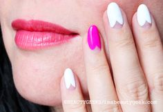 The Scalloped Manicure Tutorial with Sally Hansen Nail Expert Melissa Forrest