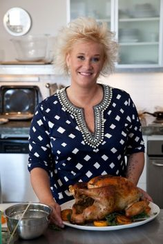 Thanksgiving Turkey #recipe from @Abu mnsar Saad Network's  Anne Burrell