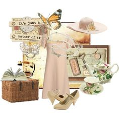 """""""A cup of tea whit Miss Marple"""" by penny on Polyvore"""