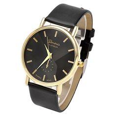 Sale Preis: JSDDE Uhren,Eelgant Genf Damen Herren Armbanduhr Lederarmband Damenuhr Vogue Gold Analog Qaurzuhr. Gutscheine & Coole Geschenke für Frauen, Männer und Freunde. Kaufen bei http://coolegeschenkideen.de/jsdde-uhreneelgant-genf-damen-herren-armbanduhr-lederarmband-damenuhr-vogue-gold-analog-qaurzuhr