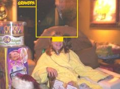 Christmas Ghost - There's Grandpa!
