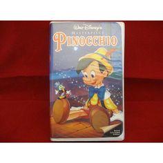 #pinocchio #disney #waltdisney #masterpiece #vhs #video #animation #clamshell #classics #movies #ebid