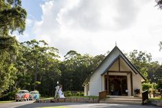 AnnaBella the Wedding Chapel in Ilkley.  This Chapel is about 12 minutes drive from Mooloolaba, just off the highway near the Aussie World attraction, so very easy to find. Grounds are spectacular for wedding photos including a lake with a row boat, ducks :) gorgeous gates, swing, bridge and jetty ..fabulous rolling grounds and spectacular chapel. A+ fabulous ceremony venue on the Sunshine Coast  Suzanne Riley Marriage Celebrant Sunshine Coast www.suzanneriley.com.au