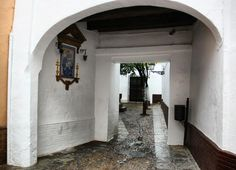 All About Spain, Santa Marta, Andalucia, Plaza, Country, Street, City, World, Houses
