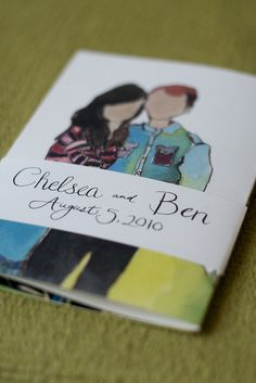 Ben & Chelsea's Wedding Invites! | The Coterie Blog | Coterie [koh-tuh-ree] A group of people who associate closely.