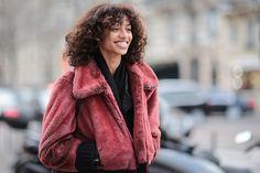 Paris Fashion Week AW16 Street Style #Paris #PFW #streetstyle #fur