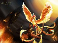 oriental phoenix vs red dragon by phnios - Buscar con Google