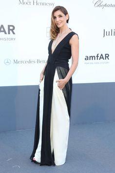 Clotilde Courau de Vionnet en la gala amfAR 2013
