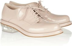 Simone Rocha Patent-leather brogues
