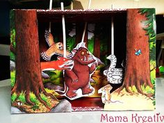make grüffelo theather itself Summer Crafts For Kids, Fun Games For Kids, Projects For Kids, Diy For Kids, 18 Month Old Activities, Toddler Activities, Fun Activities, Gruffalo Party, The Gruffalo