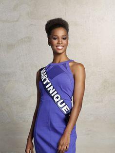 Miss Martinique: Morgane Edvige (19 ans- 1,77 m)Étudiante en BTS Tourisme