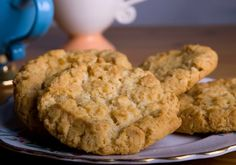 Chewy Anzac Cookies