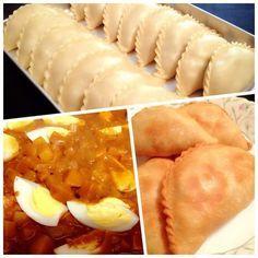 Karipap Epok Epok Kentang Telur Curry Puff Recipe Food Recipes