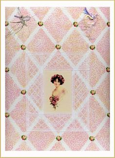 Lavendula Loveliness: Young and innocent on diamond design etc by Sandra Foster.