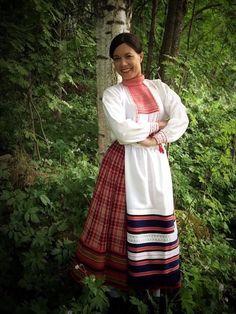 Koivisto Folk Costume, Costumes, Folk Clothing, Fashion History, Traditional Outfits, Finland, Wordpress, Textiles, Saree