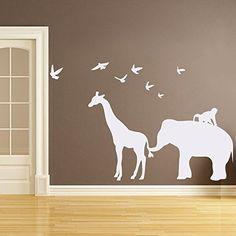 Wall Decal Decor Vinyl Safari Animal Wall Decal - Elephan... https://www.amazon.com/dp/B01KXQP66I/ref=cm_sw_r_pi_dp_x_7geGybZR46HMJ
