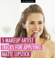 How to Wear Matte Lipstick // #beauty #makeup