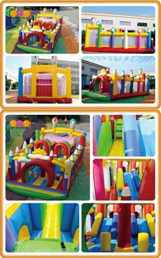 AQ13169 (10*5.5*5M  32.81'*18.04'*16.40') Inflatable pencil castle .Be with us to relax yourself.