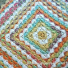 rafsweedheart crochet blanket