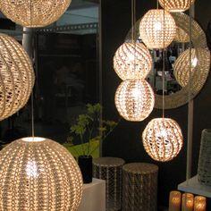 Moonbasket Crochet lampshade
