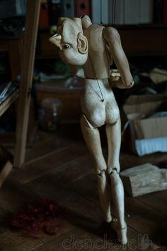 Al Terego Marionette, ca. 80 cm Ⓒ Christine Denck