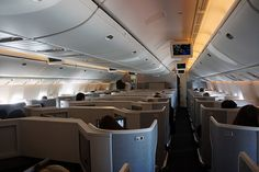 AMERICAN AIRLINES BOEING 777-300ER INAUGURAL BUSINESS CLASS DAY INFLIGHT-2
