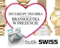 Przyjdź do butiku SWISS w dniach 10-14 lutego, kup prezent dla ukochanej osoby i odbierz swój prezent walentynkowy od SWISS. Spotkajmy się w butiku SWISS