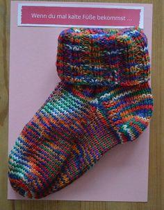 Wenn du kalte Füße bekommst ... Wenn Buch basteln | Wenn Buch Ideen