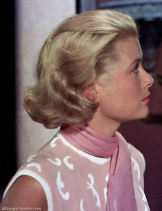 Grace Kelly in 'To Catch a Thief', 1955.