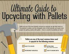 Nos ha encantado esta infografía que hemos encontrado en la web Inhabitat. Una estupenda guía para convertir viejos palets en muebles y objetos útiles para la casa.Una opción ecológica y muy econó...