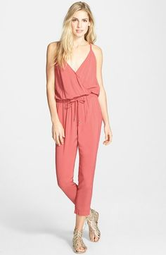 0725ca8c9aa Splendid Voile Jumpsuit available at  Nordstrom Spring 2015