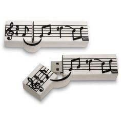 - music staff usb 4gb.http://www.pinterest.com/TheHitman14/music-paraphernalia/