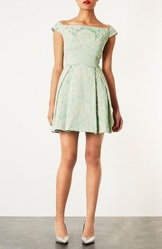 Pretty damask dress