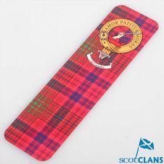 Lumsden Clan Crest Bookmark