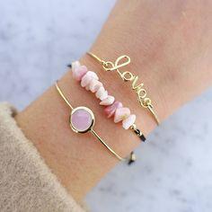 Love Gold Jonc Bracelet - Majolie   - 1