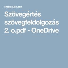 Szövegértés szövegfeldolgozás 2. o.pdf - OneDrive Grammar, Pdf