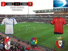 Liga Santander 2016/17 18º Fecha: Granada 1-1 Osasuna
