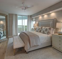 Carolina Shores Bedroom Coastal Transitional by W Design