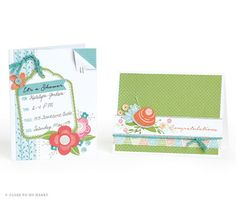 Memory Keepsakes for You and CTMH - NEW Blossom cards in SE2 available April 1st!