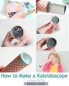 I always thought kaleidoscopes were magic... now, I can make magic!