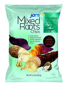 Mixed Roots Chips  Salt and Vinegar Flavor  28 Oz Package of 5 pcs * Check out the image by visiting the link.