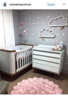 New baby nursery design ideas room decor Ideas Baby Bedroom, Baby Boy Rooms, Baby Room Decor, Nursery Room, Girl Nursery, Girl Room, Girls Bedroom, Nursery Ideas, Room Baby