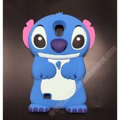 Carcasa Samsung Galaxy Mega Stitch diseño muñeco 3D