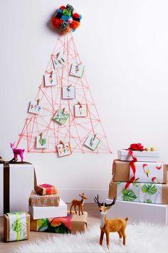 Christmas-tree-using-string