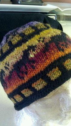 Fair isle horse hat