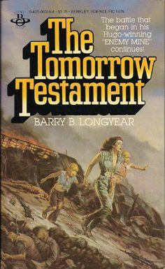 Publication: The Tomorrow Testament Authors: Barry B. Longyear Year: 1983-12-00 ISBN: 0-425-06319-4  Publisher: Berkley Books  Cover: Michael Herring