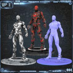 An Art Challenge based community dedicated to and Concept Art for Games. Iron Man Bleeding Edge, Iron Man Poster, Iron Man Art, Superhero Villains, 3d Character, Character Reference, Art Challenge, Cyberpunk, Marvel Comics