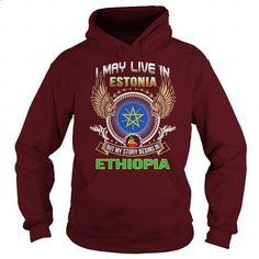 Estonia-Ethiopia - #striped shirt #crew neck sweatshirts. BUY NOW => https://www.sunfrog.com/LifeStyle/Estonia-Ethiopia-97853027-Maroon-Hoodie.html?id=60505