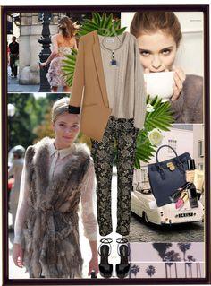"""The vintage pants!"" by thenia-kazaki ❤ liked on Polyvore"
